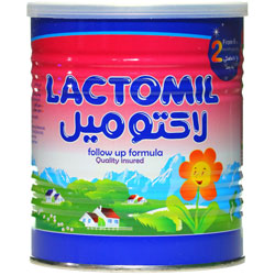 پودر شیر خشک نوزاد لاکتومیل 2 از 6 ماهگی به بعد