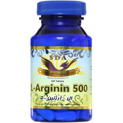 قرص ال آرژنین 500 میلی گرم سیمرغ دارو عطار