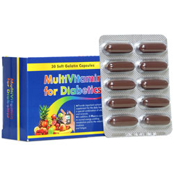 سافت ژل مولتی ویتامین دیابتیک دانا