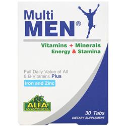 قرص مولتی من 30 عددی آلفا ویتامین