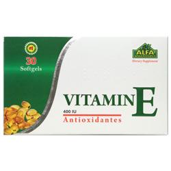سافت ژل ویتامین ای 400 آلفا 30 عددی آلفا ویتامین