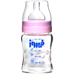 شیشه شیر خوری پیرکس دخترانه 150 میلی لیتر فیروز
