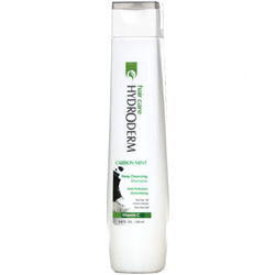 شامپو پاک کننده قوی مو و پوست سر حاوی زغال و نعناع هیدرودرم