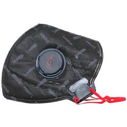 ماسک تنفسی N95 سوپاپ دار به همراه لایه کربن سیاه مداکس
