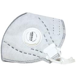 ماسک تنفسی N95 سوپاپ دار به همراه لایه کربن سفید مداکس