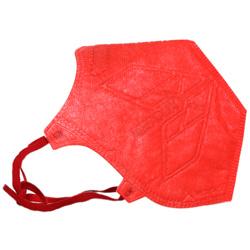 ماسک تنفسی N95 بدون سوپاپ قرمز مخصوص بانوان مداکس