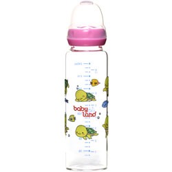 شیشه شیر بطری شیر خوری پیرکس فندقی 437 بی بی لند