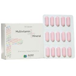 کپسول مولتی ویتامین پلاس مینرال 30 عددی الحاوی