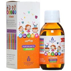 شربت مولتی ویتامین 120 میلی لیتری ایران دارو