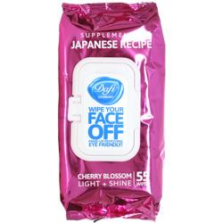 دستمال مرطوب پاک کننده آرایش ژاپنی دافی