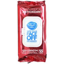 دستمال مرطوب پاک کننده آرایش آنتی اکسیدان دافی