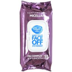 دستمال مرطوب پاک کننده آرایش میسلار دافی