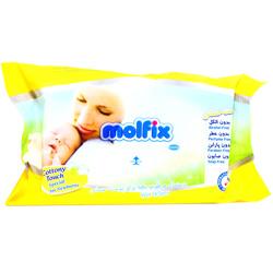 دستمال مرطوب کودک برای پوست حساس مولفیکس