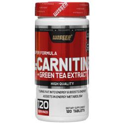 قرص ال کارنیتین به همراه عصاره چای سبز ویثر نوتریشن