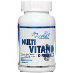 قرص مولتی ویتامین و مینرال فارما پلاس