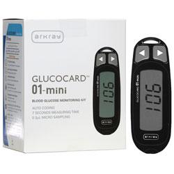 دستگاه قند خون دستگاه تست قند خون 01 مینی گلوکوکارد