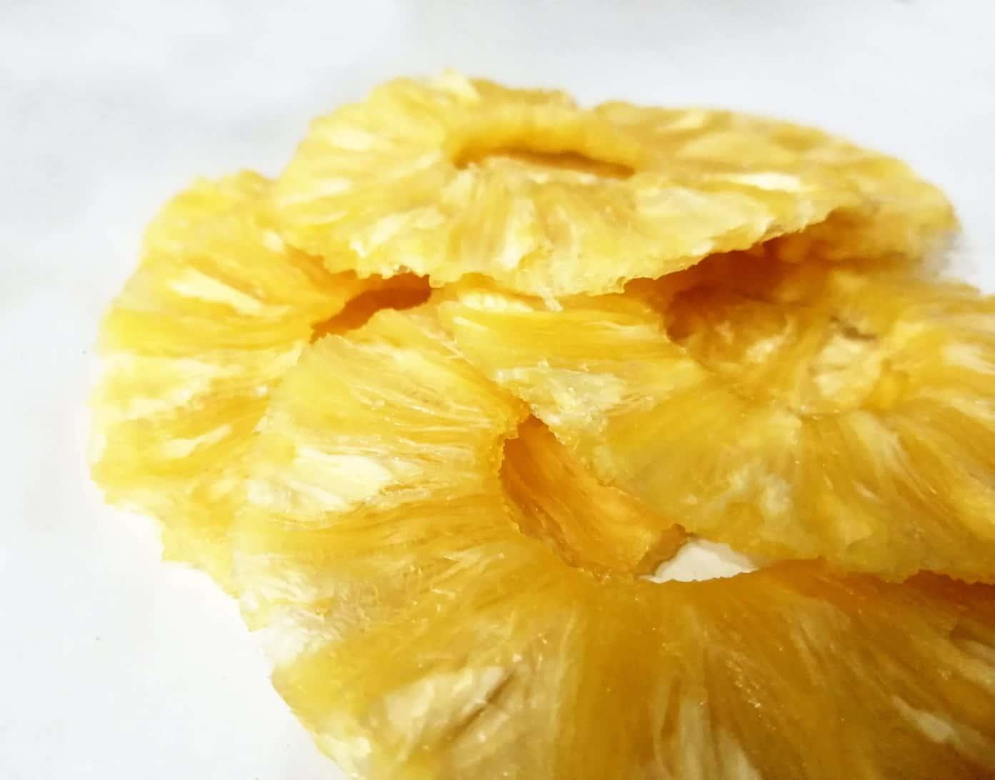 چیپس آناناس خشک
