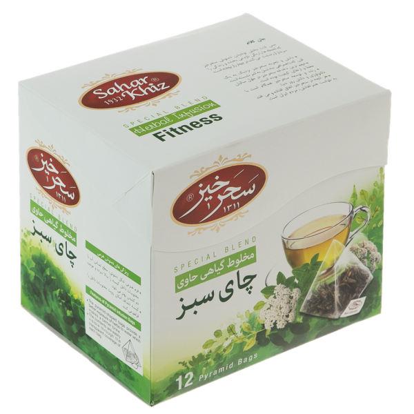چای سبز کیسه ای سحرخیز