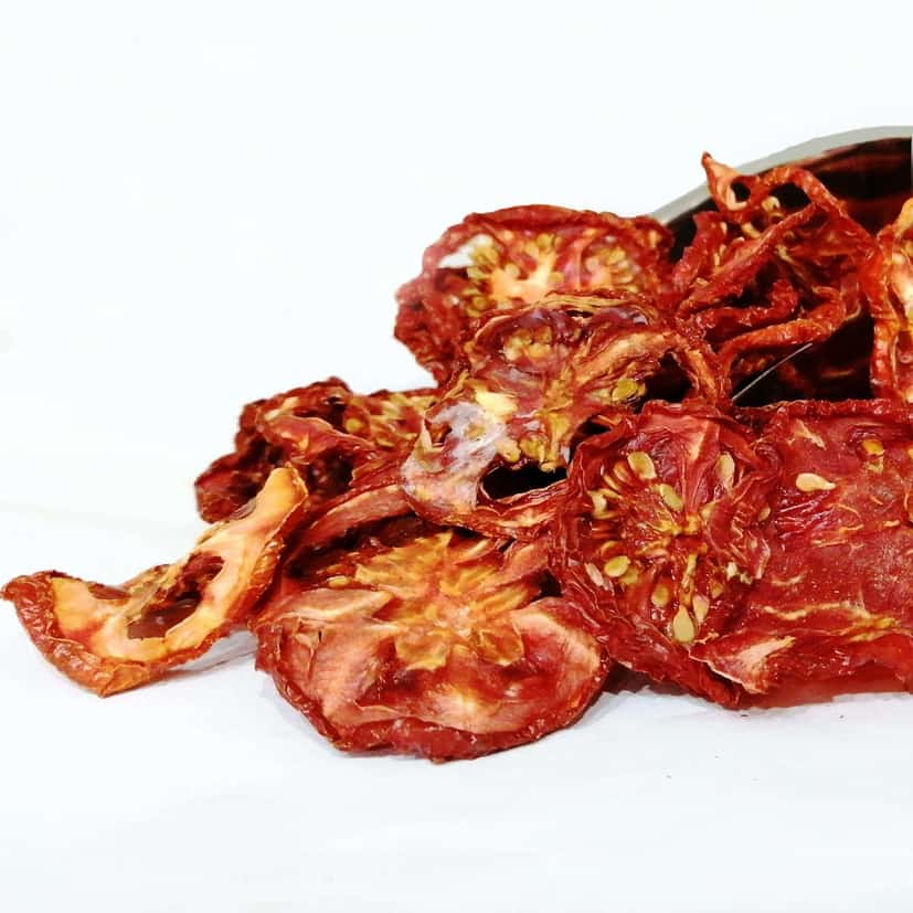 چیپس گوجه خشک