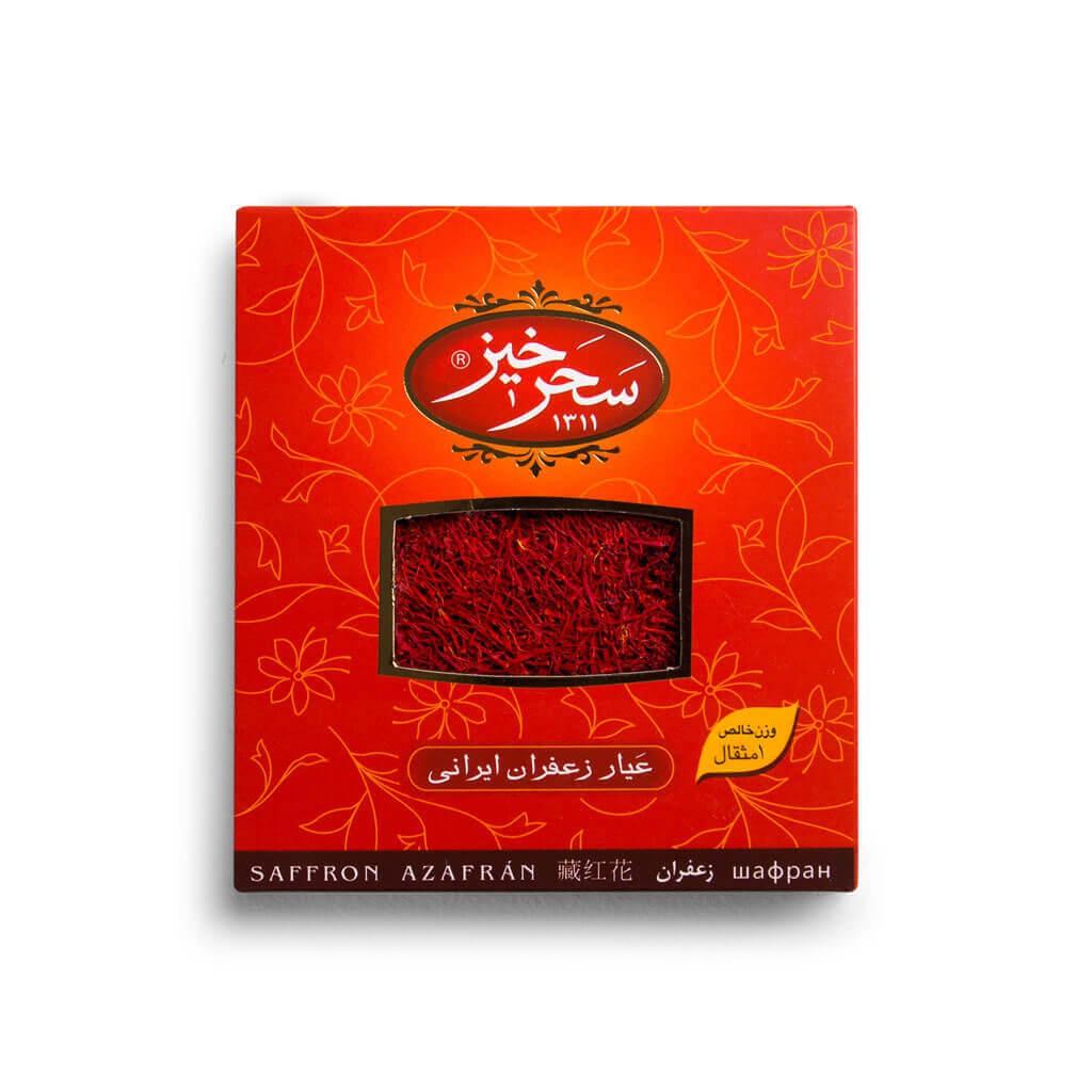 زعفران 1 مثقالی کادویی سحرخیز