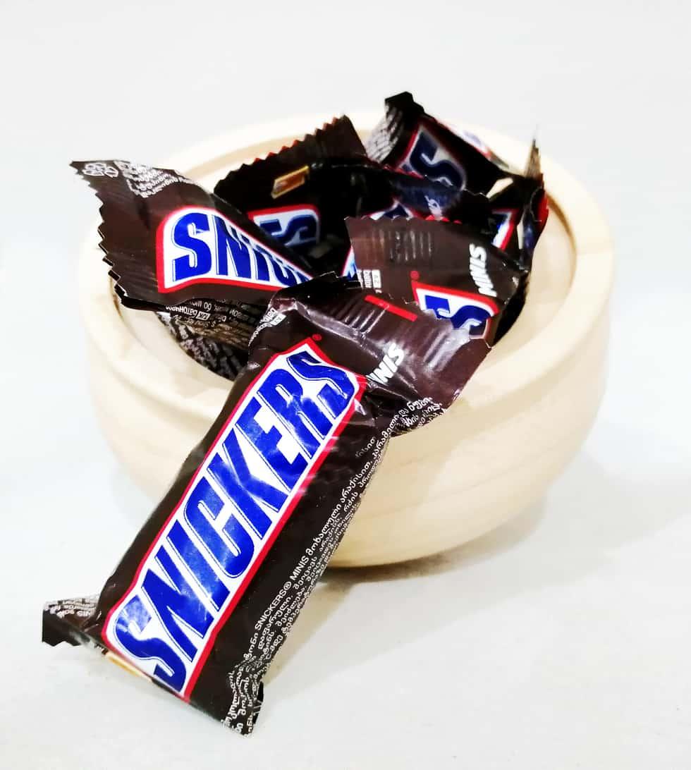 شکلات اسنیکرز فله ای اصل