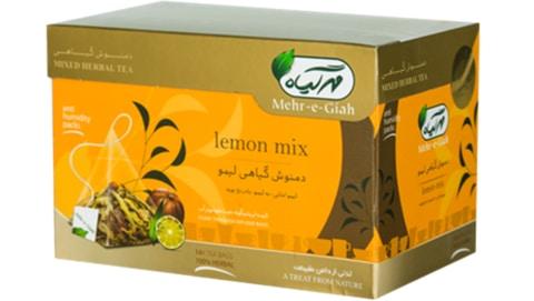 دمنوش لیمو مهر گیاه