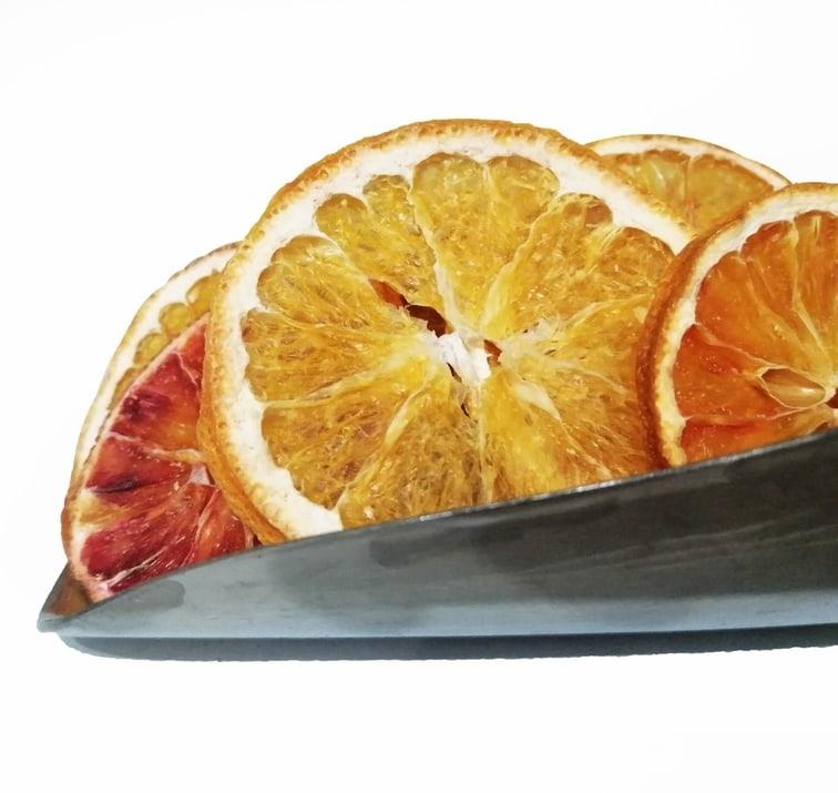 چیپس پرتقال خشک