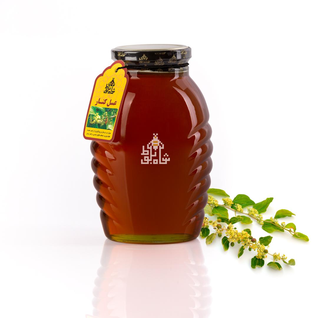 عسل کنار 500 گرمی شاه بلوط