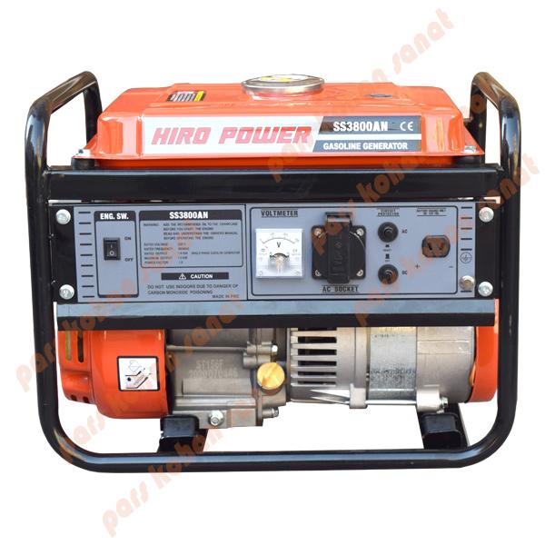 موتور برق هیرو پاور مدل SS3800AN