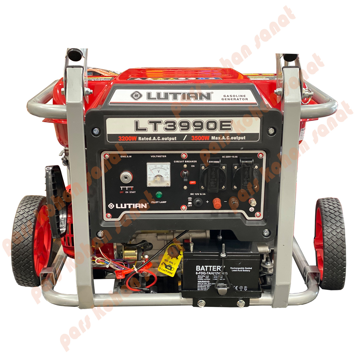 موتور برق لوتین استارتی 3500 وات مدل LUTIAN LT3990E
