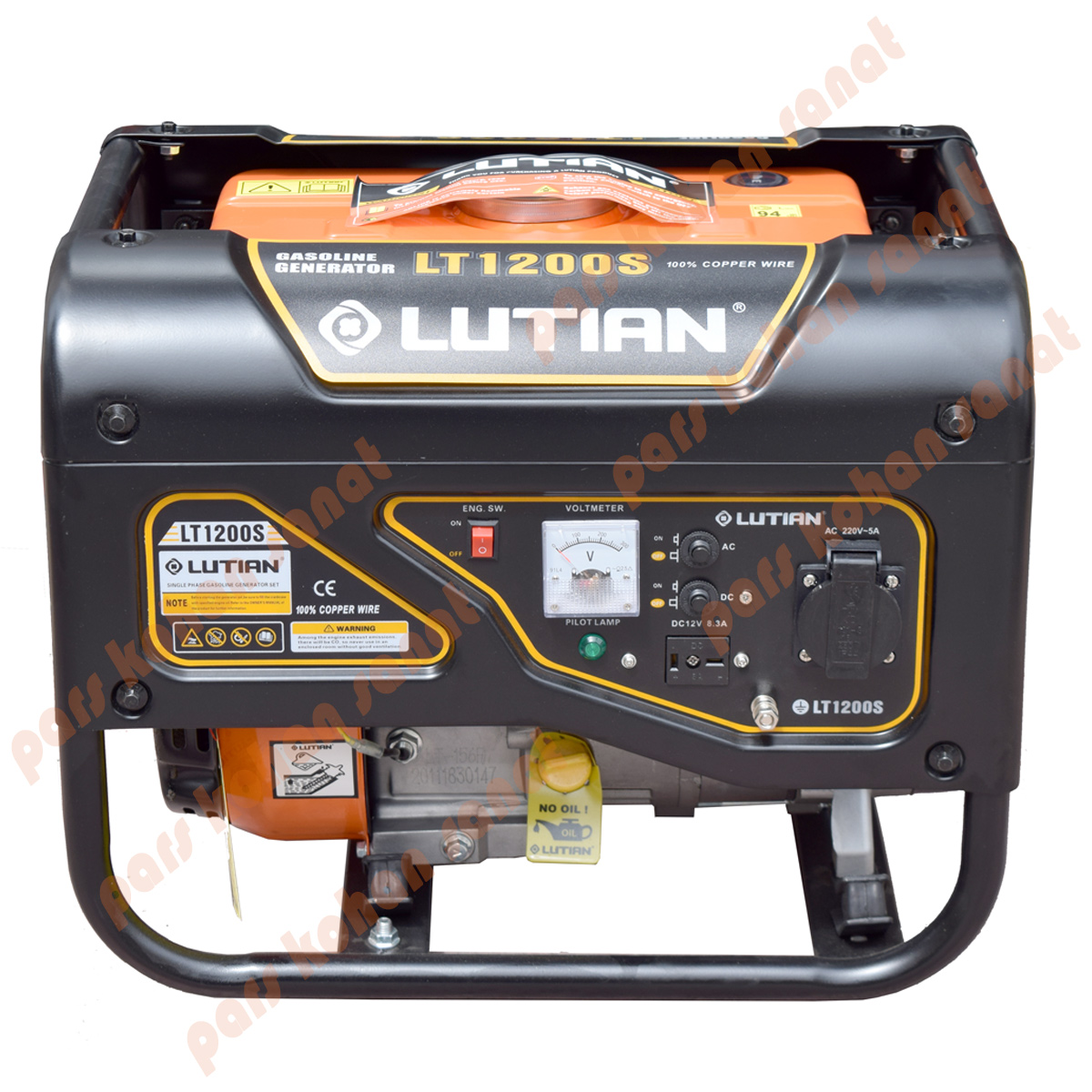 موتوربرق بنزینی لوتین مدلLT1200S