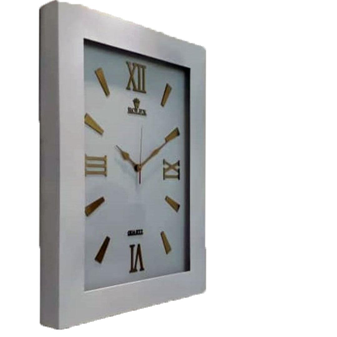 ساعت چوبی مستطیل