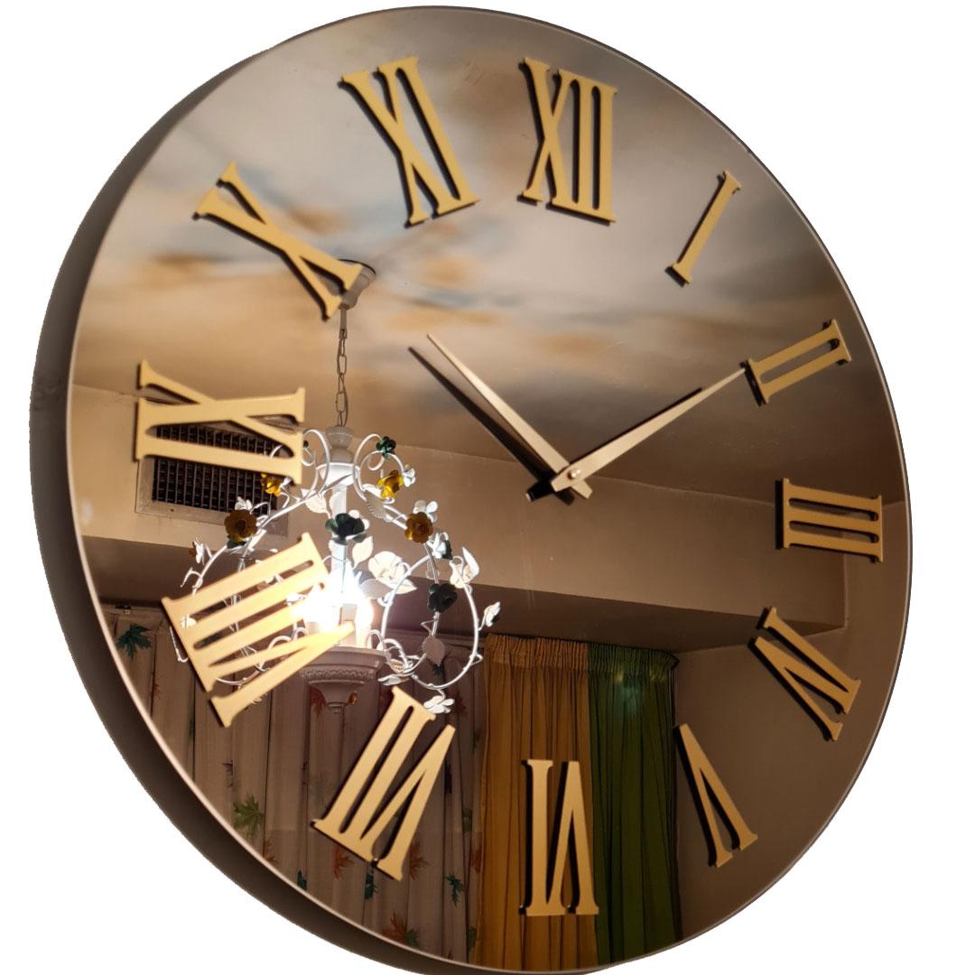 ساعت دیواری آینه ی فوق العاده زیبا در 10 طرح مختلف