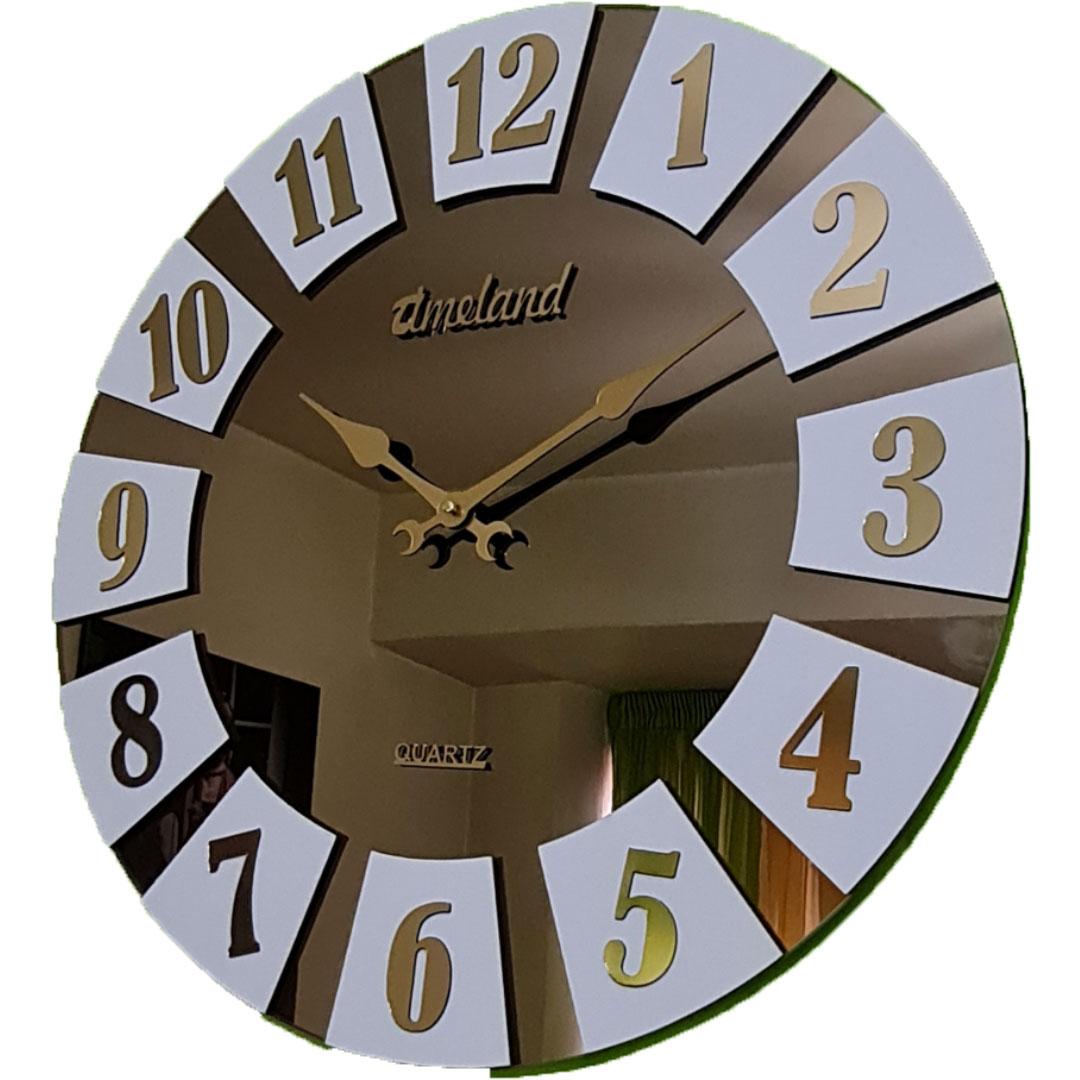 ساعت دیواری آینه ای در چندین طرح مختلف