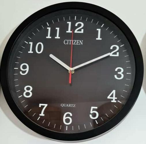 ساعت دیواری سیتیزن ساده قطر ۳۳ برند سیتیزن