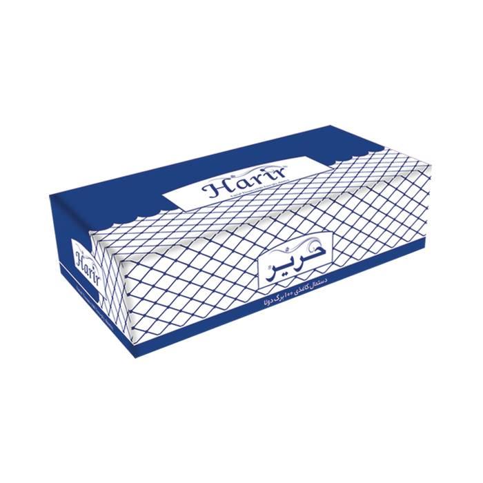 دستمال کاغذی رومیزی 200 برگ حریر