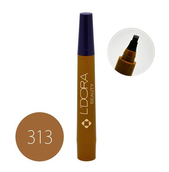 قلم هاشور ابرو کد 313 لدورا 4 گرمی