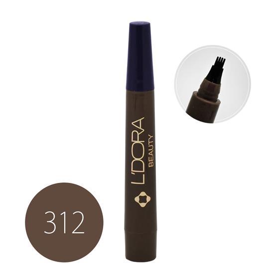 قلم هاشور ابرو کد 312 لدورا 4 گرمی
