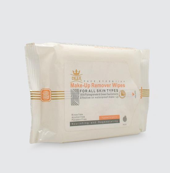 دستمال مرطوب پاککننده آرایش دایلکس