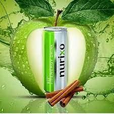 نوشابه انرژیزا با طعم سیب و دارچین و مخلوط میوههای استوایی نوریکسو
