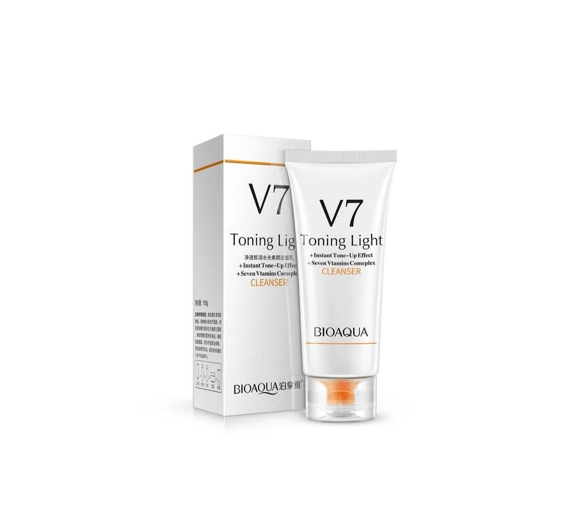 فوم شستشو v7 (هفت ویتامین) بیوآکوا