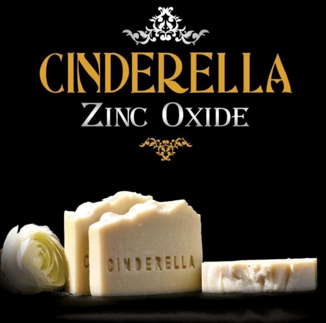 صابون سفیداب(زینک اکساید) سیندرلا